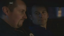 Toadie Rebecchi, Lucas Fitzgerald in Neighbours Episode 5779