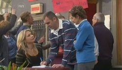 Steph Scully, Karl Kennedy, Susan Kennedy in Neighbours Episode 5780