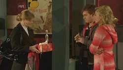 Elle Robinson, Ringo Brown, Donna Freedman in Neighbours Episode 5782