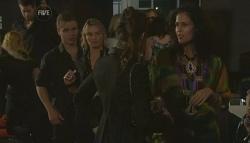 Ringo Brown, Donna Freedman, Saffron Jankievicz in Neighbours Episode 5782