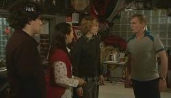 Harry Ramsay, Sunny Lee, Robin Hester, Noel West in Neighbours Episode 5786