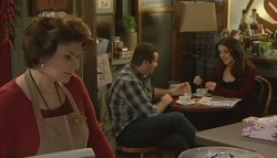 Lyn Scully, Toadie Rebecchi, Libby Kennedy in Neighbours Episode 5787