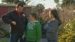 Toadie Rebecchi, Callum Jones, Sophie Ramsay in Neighbours Episode 5790