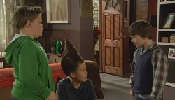 Callum Jones, Sophie Ramsay, Ben Kirk in Neighbours Episode 5790