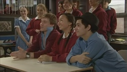 Ringo Brown, Sunny Lee, Zeke Kinski in Neighbours Episode 5791