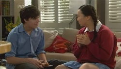 Zeke Kinski, Sunny Lee in Neighbours Episode 5791