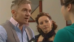 Jason Coleman, Lauren Gateley, Kate Ramsay in Neighbours Episode 5791