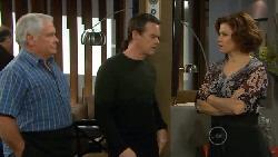 Lou Carpenter, Paul Robinson, Rebecca Napier in Neighbours Episode 5796