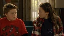 Callum Jones, Sophie Ramsay in Neighbours Episode 5805