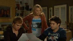Ringo Brown, Donna Freedman, Declan Napier in Neighbours Episode 5807