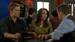 Dan Fitzgerald, Libby Kennedy, Toadie Rebecchi in Neighbours Episode 5808