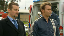 Toadie Rebecchi, Lucas Fitzgerald in Neighbours Episode 5809