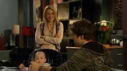India Napier, Donna Freedman, Declan Napier in Neighbours Episode 5810