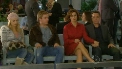 Donna Freedman, Ringo Brown, Rebecca Napier, Paul Robinson in Neighbours Episode 5812