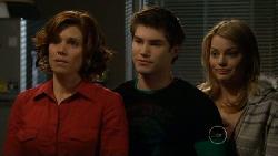 Rebecca Napier, Declan Napier, Donna Freedman in Neighbours Episode 5813