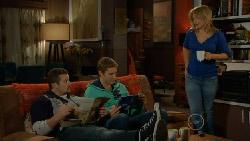 Toadie Rebecchi, Dan Fitzgerald, Steph Scully in Neighbours Episode 5813