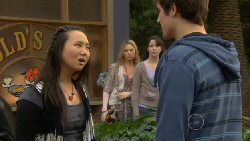 Sunny Lee, Donna Freedman, Kate Ramsay, Kyle Canning in Neighbours Episode 5813