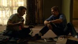 Lucas Fitzgerald, Dan Fitzgerald in Neighbours Episode 5813