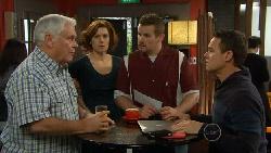 Lou Carpenter, Rebecca Napier, Toadie Rebecchi, Paul Robinson in Neighbours Episode 5817