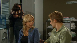 Karl Kennedy, Libby Kennedy, Steph Scully, Dan Fitzgerald in Neighbours Episode 5819