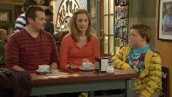 Toadie Rebecchi, Sonya Mitchell, Callum Jones in Neighbours Episode 5820