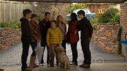 Ringo Brown, Donna Freedman, Toadie Rebecchi, Callum Jones, Rocky, Sonya Mitchell, Sunny Lee, Zeke Kinski in Neighbours Episode 5820