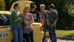 Kate Ramsay, Donna Freedman, Zeke Kinski, Ringo Brown, Declan Napier in Neighbours Episode 5824
