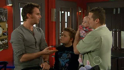 Lucas Fitzgerald, Callum Jones, India Napier, Toadie Rebecchi in Neighbours Episode 5825