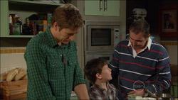 Dan Fitzgerald, Ben Kirk, Karl Kennedy in Neighbours Episode 5826