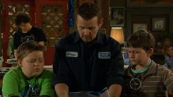 Harry Ramsay, Callum Jones, Toadie Rebecchi, Ben Kirk in Neighbours Episode 5830