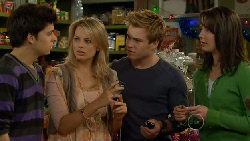 Zeke Kinski, Donna Freedman, Ringo Brown, Kate Ramsay in Neighbours Episode 5831
