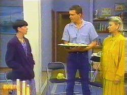 Hilary Robinson, Des Clarke, Helen Daniels in Neighbours Episode 0662