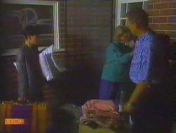 Hilary Robinson, Helen Daniels, Jim Robinson in Neighbours Episode 0662