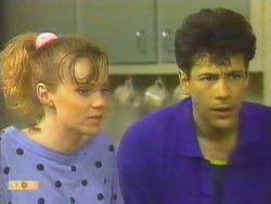 Sally Wells, Tony Romeo in Neighbours Episode 0663