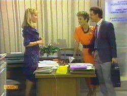 Jane Harris, Gail Robinson, Paul Robinson in Neighbours Episode 0663