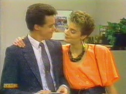 Paul Robinson, Gail Robinson in Neighbours Episode 0663