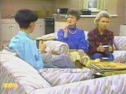 Hilary Robinson, Nell Mangel, Helen Daniels in Neighbours Episode 0663
