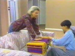 Helen Daniels, Hilary Robinson in Neighbours Episode 0663