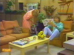 Madge Ramsay, Henry Ramsay in Neighbours Episode 0664