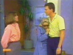 Beverly Marshall, Eileen Clarke, Des Clarke in Neighbours Episode 0664