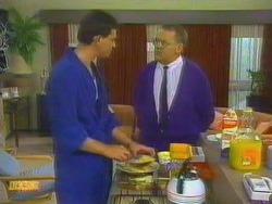 Des Clarke, Harold Bishop in Neighbours Episode 0664