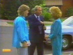 Henry Ramsay, Barry Hawkins, Madge Bishop in Neighbours Episode 0664