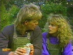 Scott Robinson, Charlene Mitchell in Neighbours Episode 0665