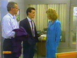 Jim Robinson, Paul Robinson, Madge Bishop in Neighbours Episode 0665