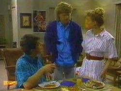 Tony Romeo, Henry Ramsay, Sally Wells in Neighbours Episode 0665