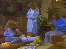 Charlene Robinson, Scott Robinson, Madge Ramsay, Henry Ramsay in Neighbours Episode 0666