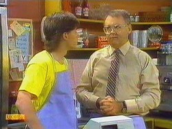 Mike Young, Harold Bishop in Neighbours Episode 0666