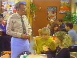 Harold Bishop, Jane Harris, Charlene Mitchell in Neighbours Episode 0666