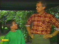 Todd Landers, Jim Robinson in Neighbours Episode 0666