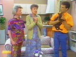 Helen Daniels, Nell Mangel, Tony Romeo, Satan in Neighbours Episode 0669